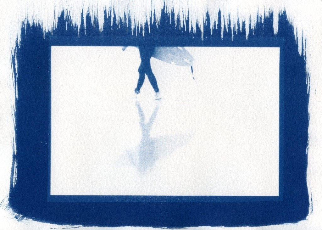cyano ( reflet - 20x30