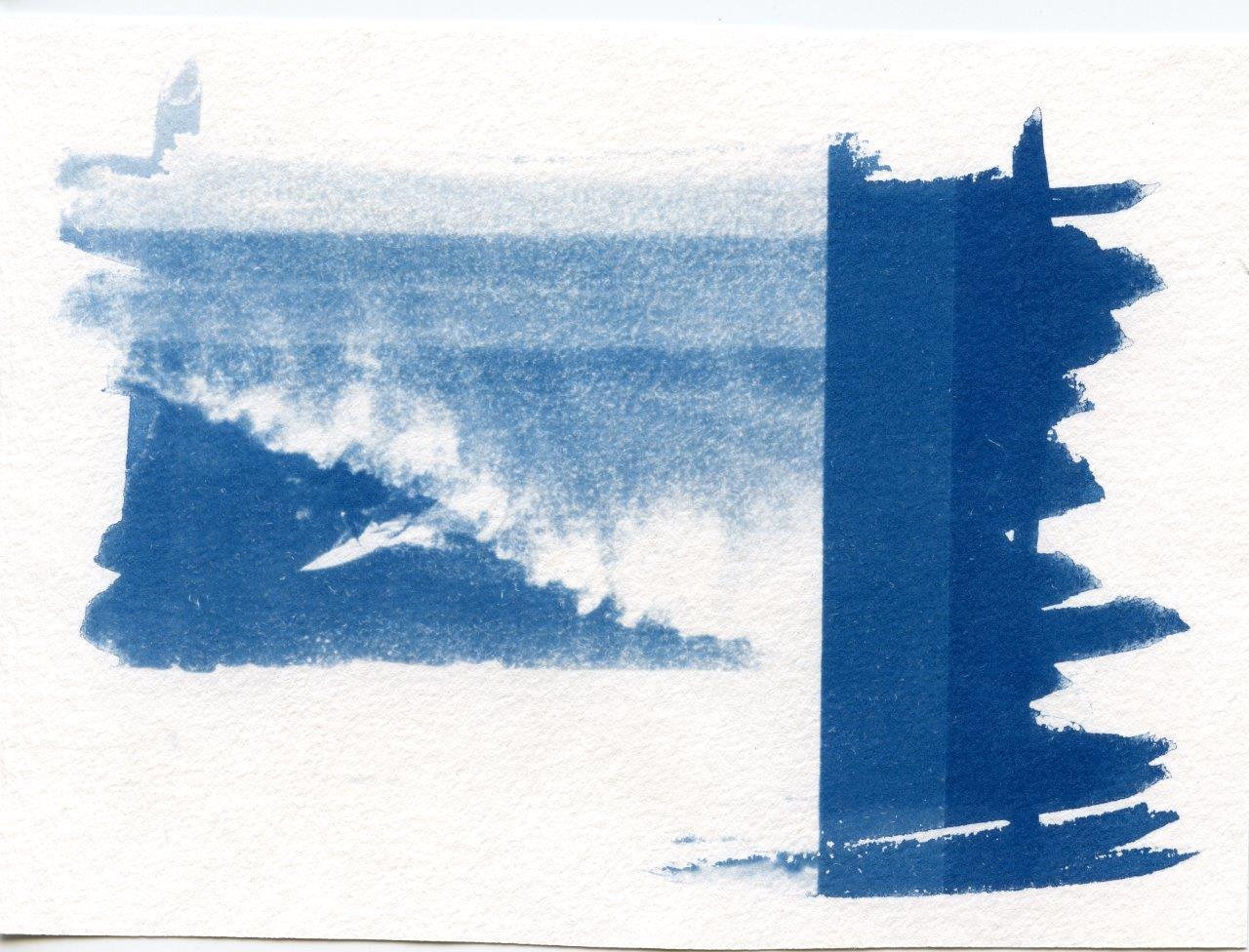 cyano ( surfeur landes - 10x15