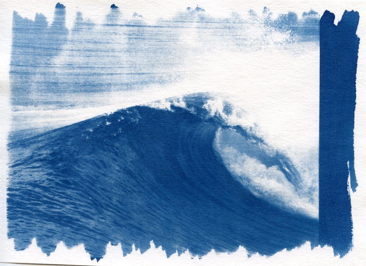 cyano ( vague la salie n°2 - 13x18