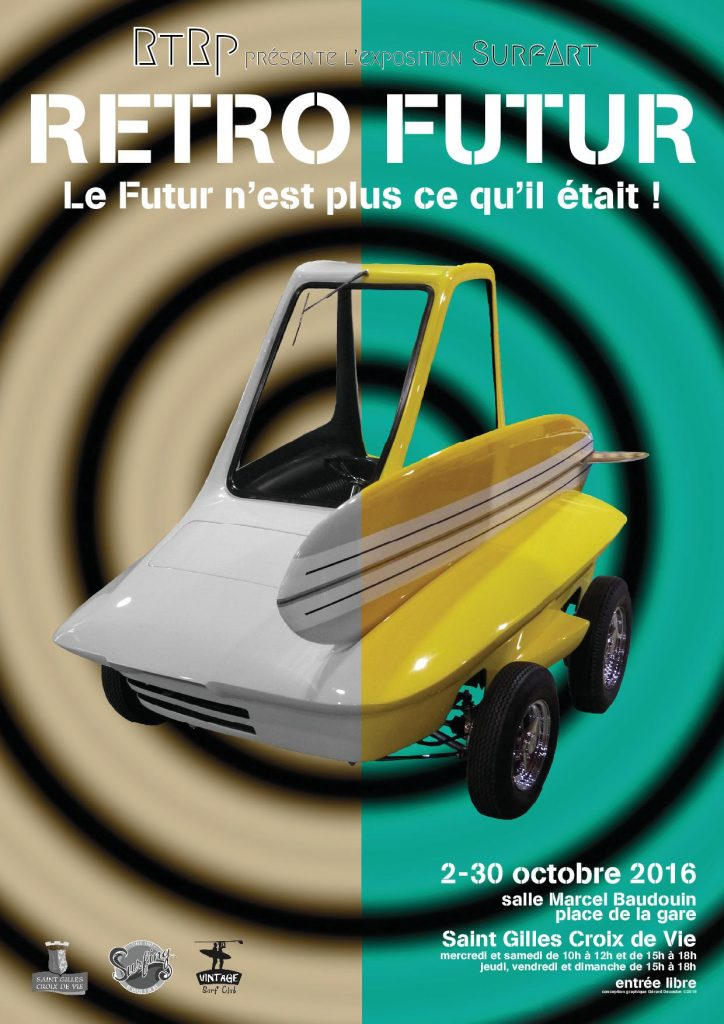 affiche expo retro futur a4