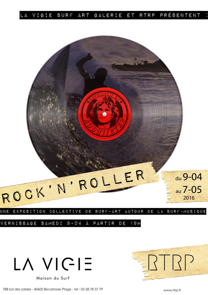 affiche rockNroller